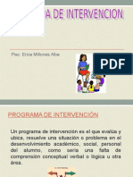 PROGRAMA de Intervencion 2012 Piura