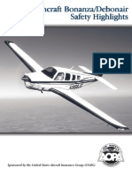 Beechcraft Bonanza & Debonair Safety Highlights