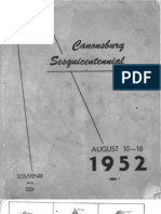 Canonsburg Sesquicentennial Booklet