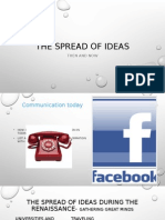chapter 4-the spread of ideas