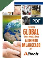 Encuesta Global Sobre Produccion de Alimento Balanceado