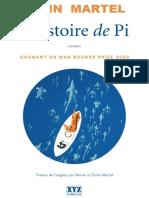 L Histoire de Pi - Yann Martel