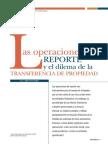 Operaciones de Reporte (REPO)