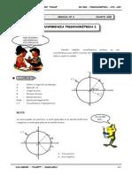 Circunferencia Trigonométrica I