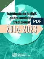 estrategia de la OMS sobre medicina tradicional