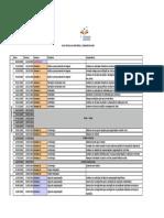 Calendário Escolar Por Curso - InF - 2015 2