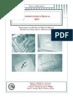 Correspondence Manual 4.09