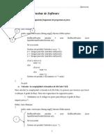 pruebas del funcionamiento de software