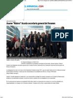 03-11-15 Asume Maloro Acosta Secretaría General de Fenamm