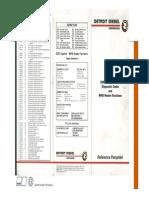 Codigo DDEC para motores Detroit Diesel