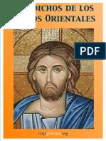 Padres Orientales 300 Discursos de Los Santos Ortodoxos