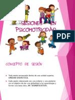 Sesiones en Psicomotricidad