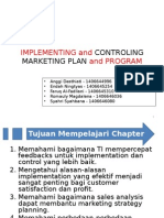 Implementing & Controling Marketing