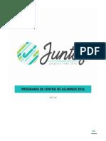 Programa Juntos CAAE 2016