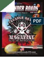 Thunder Roads New York Magazine - April 2010