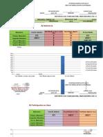 Formatos Para Gráficas de Los 5 Bimestres Con Porcentajes. Grupo a y b