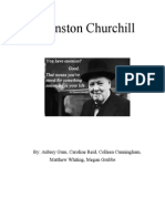 winston churchill paper