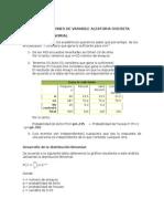Aplicaciones Distribuciones de Probabilidad 2