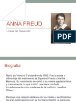 Anna Freud resumen