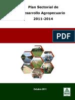 Plan Sectorial Desarrollo Agropecuario