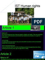 year 6mst human rights