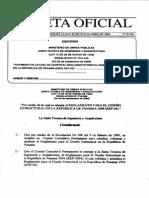 Reglamento de La Construccion de Panama 2004