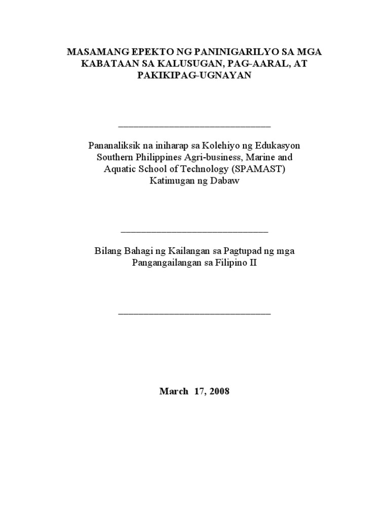 thesis title on business