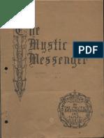The Mystic Messenger, September 1942