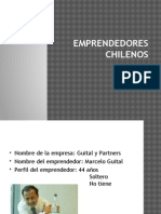 Emprendedores Chilenos