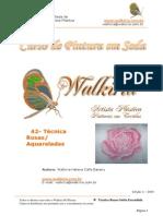 Rosa aquarelada