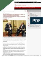 Sostiene Raúl Encuentro Con Presidente de La Cámara de Comercio y Empresarios Norteamericanos _ Cubadebate