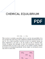 Chemical Equilibrium-Thermodynamics