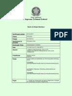 Agravo Regimental REITERADO - Ação Popular - Extinção Do PTB