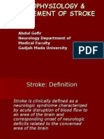 Patophysiology and Management of Stroke-Okt2014