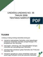 UU-No.35-Tahun-2009-Narkotika.ppt