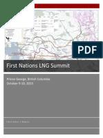 First Nations LNG Facilitators Report