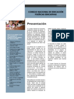 politicas educativas cne