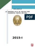 Primera Practica Finitos -2015 I