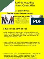 situaciones conflictivas