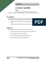 Engineering Capability Manual