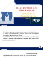 El Informe y El Memorandum - CONTA (1)