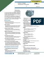 Temperature Transmitter III YTA320 Catalogue