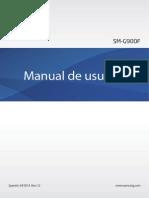 Manual Samsung Galaxy s5 Usuario SM G900F Español España