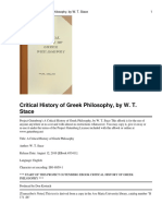 A Critical History of Greek