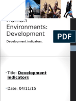 Development indicators.ppt