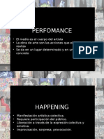 Performance y Happening