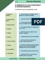 5to Grado - Ciencias - Características Generales de Los Ecosistemas