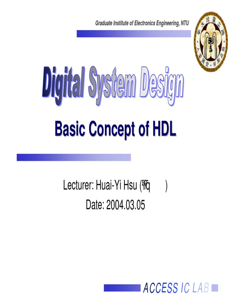 Basic Concept Of Hdl Cmos Hardware Description Language Csci 255 Flip Flops