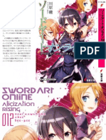 [T4DW] Sword Art Online - 12 Alicization Rising (Completa)