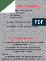 Corrientes de Viento( Grupo 3)